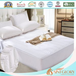 Waterproof Cotton Blend King Size Mattress Protector pictures & photos