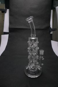 Extremely Complex Two Functions Glass Recycler Glass Water Pipes Cute Colorful pipe Oil Rigs pipe DAB Rigs Oil Rig Heady pictures & photos