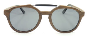 Fqwa162584 New Design Quality Fashion Wooden Frame Sunglasses Customer Logo pictures & photos