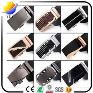 Hot Men′s Business Alloy Automatic Buckle Belt pictures & photos