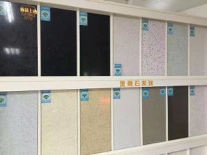 Artificial Big Slab Quartz Stone for Kitchentop pictures & photos