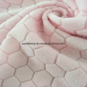 Jacquard Micro Fleece with Pentagon-Type pictures & photos