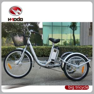 "24"" 3 Wheel Adult Electric Cargo Tricycle on Sale pictures & photos"