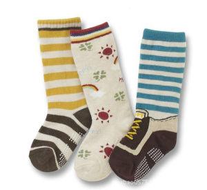 Fashion Anti-Slip Baby Cotton Socks pictures & photos