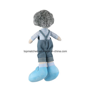 Stuffed Plush Human Toys Lovely 18 Inch Boy Doll with Jeans Clothes pictures & photos