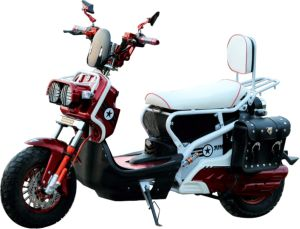Range 80km Lithium Battery E-Motorcycle with 2500W Motor pictures & photos