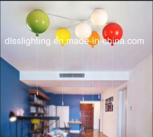 Creative Modern Memory Acrylic Colorful Balloon Ceiling Light for Child′s Room pictures & photos