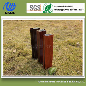 Aluminum Wood Grain Powder Coating Paint
