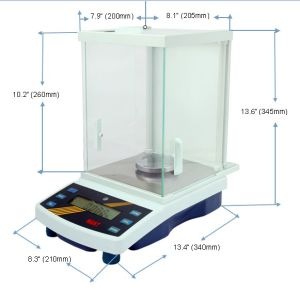 High Precision Laboratory Analytical Weighing Scale (2100g*0.01g) pictures & photos