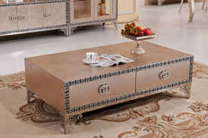 MDF Top Coffee Table Tea Table with Drawers pictures & photos