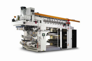 High Speed Paper Flexo Printing Press