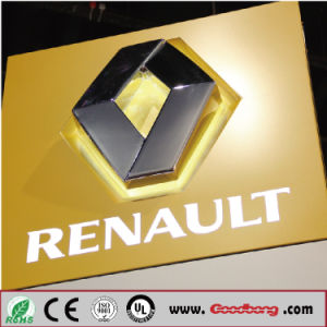 Customized 3D Plastic Chrome Auto Logo Sign pictures & photos