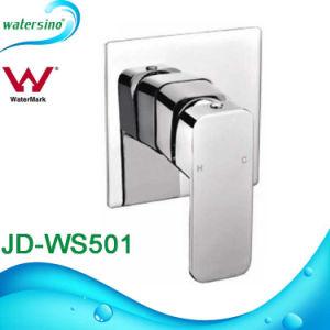 Brass Chrome Bathroom Square Handle Shower Faucet Mixer pictures & photos