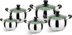 10PCS Stainless Steel Cookware Set with Low Price pictures & photos