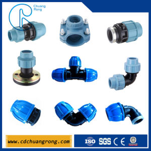 PP Plastic Irrigation Pipe Fittings pictures & photos
