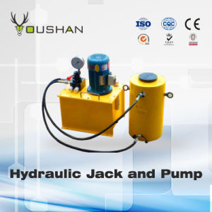 Double Acting Hollow Plunger Hydraulic Jack10-1000t