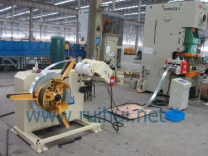 Have The Four Point in Turbine Type Adjustment Device Is The Uncoiler Straightener pictures & photos