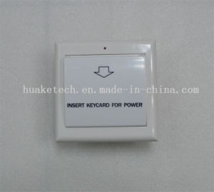 White Hotel RF Card Switch, Room Card Switch, Key Card Switch pictures & photos