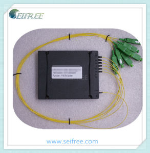 1*6 Sm Optical Splitter with Sc/APC in Plastic Box pictures & photos