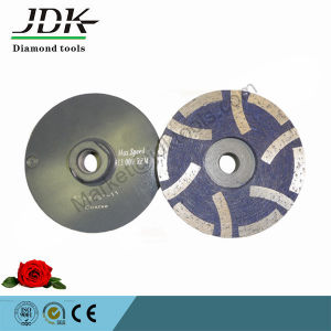 "4"" Jdk Resin Metal Diamond Grinding Cup Wheels pictures & photos"