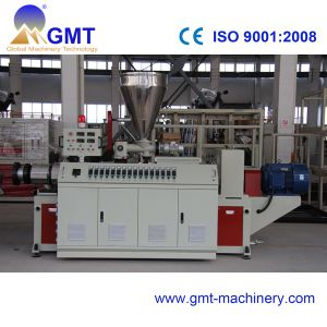 PVC WPC Profile Wide Window Plastic Machine Twin Screw Extruder pictures & photos