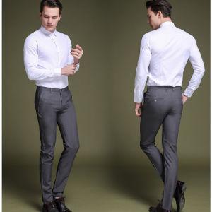 Mens Business Formal Suit Pants Slim Fit Design Men Trouser pictures & photos