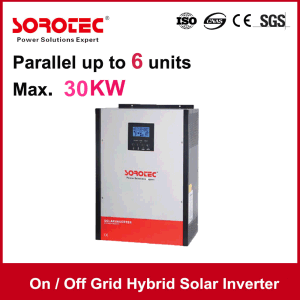 on/off -Grid Hybrid 3kVA-5kVA Pure Sine Wave Solar Inverter pictures & photos