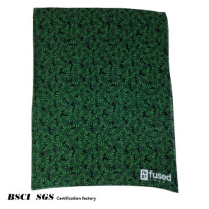 Women′s Green Leaves Beach Towels Digital Printing Scarf pictures & photos