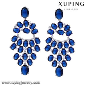 94584 Fashion Luxury Rhodium Luxury Jewelry Earring for Wedding or Party pictures & photos