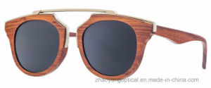 Wholesale Hot Style Custom Handmade Wooden Sunglasses with Logo pictures & photos