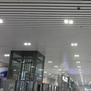 Roll Formed Baffle Suspended System Ceiling pictures & photos