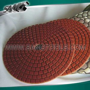 Wet and Dry Diamond Polishing Pads for Stone Processing (SG-092) pictures & photos