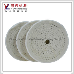 Abrasive 100% Cotton Cloth Grinding Polishing Wheel for Polishing Jewelry and Metal pictures & photos