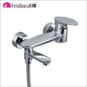European Style Popular Brass Single Handle Tall Basin Faucet pictures & photos