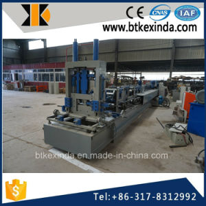 Kxd Galvanized Steel CZ Purlin Roll Forming Machine pictures & photos