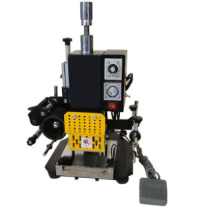 Tam-90 Mini Pneumatic Hot Foil Stamping Machine pictures & photos