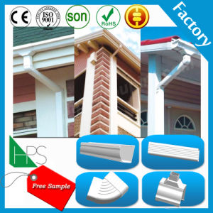 PVC Pipe Fitting Rainwater Gutter Building Material pictures & photos