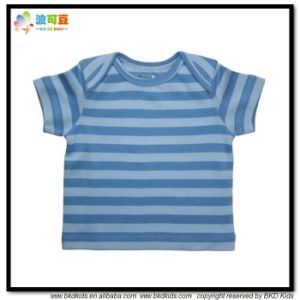 Envelope Neck Baby Garment Stripe Printing Baby Clothes pictures & photos