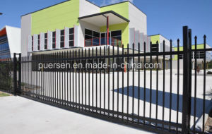 Powder Coated Galvanized Spear Security Garrison Fence pictures & photos