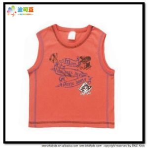 Custom Size Baby Wear Sleeveless Tank Top pictures & photos