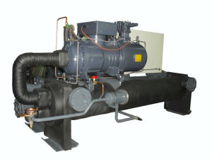350kw Thermoforming Water Cooled Screw Chiller with PLC Touch Screen pictures & photos