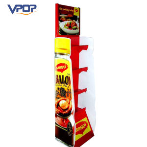 Pop Corrugated Cardboard Easel Display for Suace