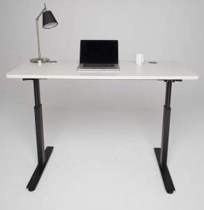Sit to Stand Desk Frame with Double Lifting Columns (ZHOF01)