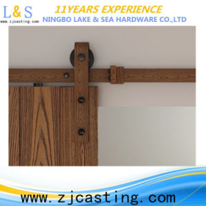Rustic Style Interior Sliding Barn Door Hardware pictures & photos