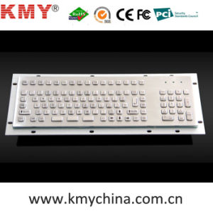 Mini Waterproof Metal Keyboard with Numeric Keypad (KMY299I-7) pictures & photos