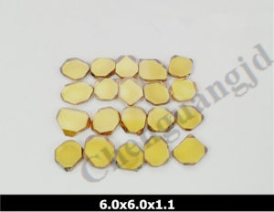 Hpht Synthetic Diamond Monocrystalline Plate 5*5mm pictures & photos