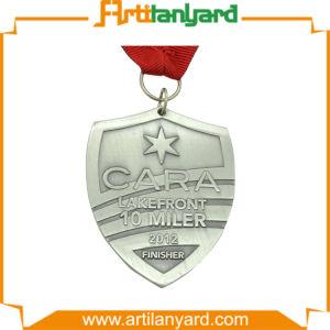 Customized Soft Enamel Silver Medal for Souvenir pictures & photos