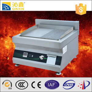 Commercial Hotel Kitchen Equipment Stainless Steel Electric Griddle pictures & photos