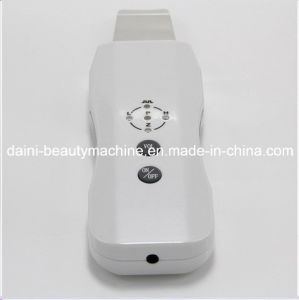 Skin Beauty Care Facial Rejuvenation Ultrasonic Ion Skin Scrubber Peeling Portable Rechargeable pictures & photos