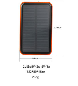 9000mAh Intelligent Solar Power Bank pictures & photos